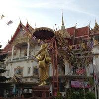 Photo taken at Wat Lahan by Nokphan B. on 9/3/2013