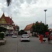 Photo taken at Wat Lahan by Nokphan B. on 8/10/2013