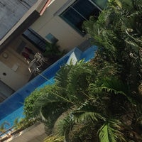 Photo taken at Swimming Pool@Centric Place by Nokphan B. on 3/31/2014