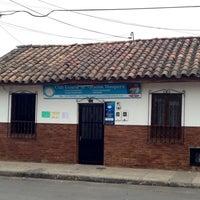 Photo taken at Club Escuela de Natación Mosquera by Gabriel G. on 1/18/2013