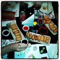 Photo taken at Sushi San by Marcelo P. on 5/18/2013