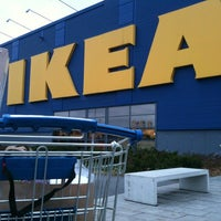 Photo taken at IKEA Barkarby by Fredrik Å. on 11/1/2012