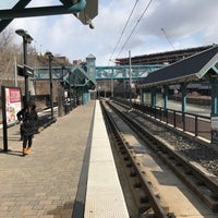 Photo taken at NJT - Port Imperial Light Rail Station by Sean V. on 3/11/2017