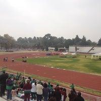 Photo taken at Estadio Wilfrido Massieu by Miguel Ángel S. on 11/23/2012