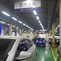 Photo taken at 쉐보레 동서울직영 서비스센터 by 곰손아즈메 on 3/31/2015