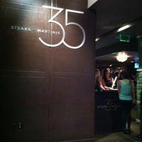 Photo taken at 35 Steaks + Martinis by Yoyo on 4/14/2013