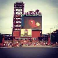 Photo taken at Citizens Bank Park by Rolando Z. on 6/23/2013