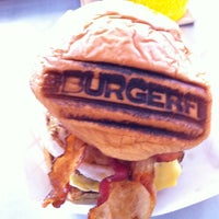 Photo taken at BURGERFI by JT T. on 11/17/2012