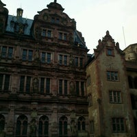 Photo taken at Heidelberger Schloss by Keyla Q. on 12/26/2012