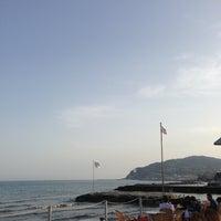 Photo taken at Bagni Ponterosso - Windsurf Center by Nicola F. on 5/2/2013