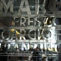 Снимок сделан в Osteria della Piazza Bianca пользователем Irina 10/13/2012