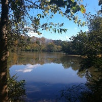 Photo taken at Lullwater Preserve by Fatima Al Slail on 10/24/2012