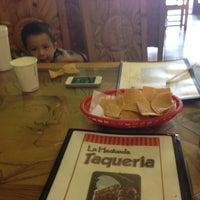 Photo taken at La Hacienda Taqueria by Caleb H. on 5/11/2013