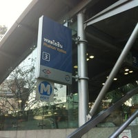 Photo taken at MRT Phahon Yothin (PHA) by Alex K. on 12/29/2012