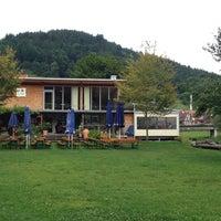 Photo taken at Flösserpark by Matthias D. on 8/18/2014