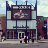 Photo taken at adidas Factory Outlet by Reggie on 5/19/2014