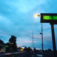 Photo taken at Hultsfreds järnvägsstation by Elias F. on 9/17/2015