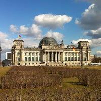 Photo taken at Reichstag by Max B. on 4/7/2013