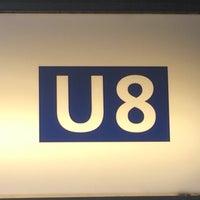 Photo taken at U8 Wittenau - Hermannstraße by Max B. on 4/16/2015