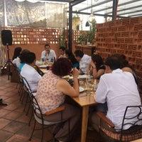 Photo taken at Los Pacos -Alta Cocina Oaxaqueña- by Julian L. on 3/17/2017