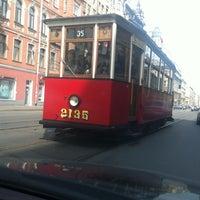 Снимок сделан в Музей городского электрического транспорта пользователем Екатерина 5/9/2013