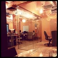 Photo taken at Stickman's Hideout - Nuffnang by CikLily P. on 4/24/2014
