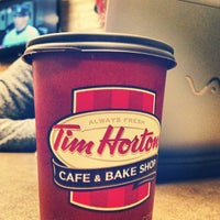 Photo taken at Tim Hortons by Corey A. on 10/11/2012