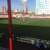 Photo taken at Стадион «Новые Химки» by Анна С. on 10/25/2014