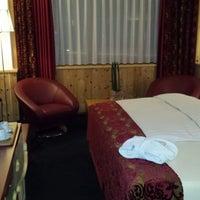 Photo taken at San Gian Hotel St. Moritz by Markus M. on 3/9/2014