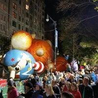 Photo taken at Macy's Parade Balloon Inflation by Ricardo E. on 11/26/2015