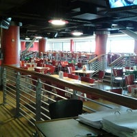 Photo taken at Manchester United Red Café by cmike on 5/20/2013