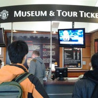 Photo taken at Manchester United Museum & Tour Centre by cmike on 5/20/2013