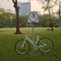 Photo taken at Lumphini Park by Psyche M. on 1/23/2013