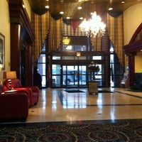 Photo taken at Embassy Suites by Hilton Detroit Livonia Novi by Pamela S. on 2/27/2013