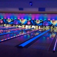 Photo taken at Andover Lanes and Lounge by Ashley D. on 4/18/2013