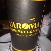 Photo taken at L'Aroma by May E. on 7/6/2013