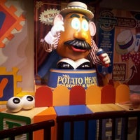 Photo taken at Toy Story Mania! by Tracey L. on 12/22/2012