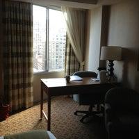 Photo taken at Holiday Inn Express Philadelphia-Midtown by Chantal B. on 4/2/2013