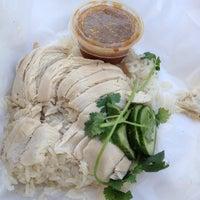 Photo taken at Nong's Khao Man Gai by Matt K. on 6/7/2013