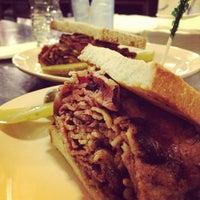 Photo taken at Eisenberg's Sandwich Shop by Matt K. on 9/15/2012