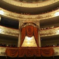 Снимок сделан в Михайловский театр пользователем Uliana 🍀 5/10/2013
