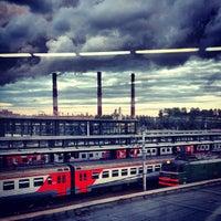 Photo taken at Ladozhsky Railway Station by Natalya M. on 7/17/2013