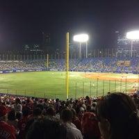 Photo taken at Meiji Jingu Stadium by Koji O. on 9/25/2014