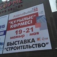 Photo taken at Astana Build Korme Expo by Evgeniya on 5/21/2015