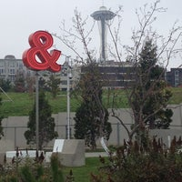 Photo taken at Olympic Sculpture Park by Jen F. on 10/19/2013