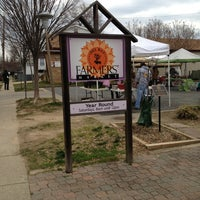 Photo taken at Del Ray Farmers' Market by Jen F. on 3/16/2013