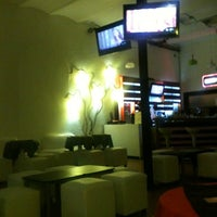 Photo taken at Shine Sushi Bar by Candy O. on 11/29/2012