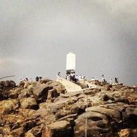 Photo taken at Arafah Mountain by Valen W. on 3/31/2013