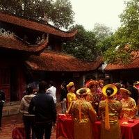Photo taken at Đền Sóc by Tuan Linh P. on 2/19/2013