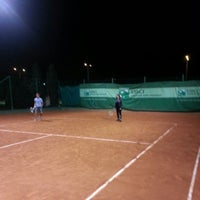 Photo taken at Tennis Club ASM by Hatem D. on 1/6/2013